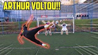 TROCA DE PERSONALIDADES NO FUTEBOL! ( ARTHUR VOLTOU!! )