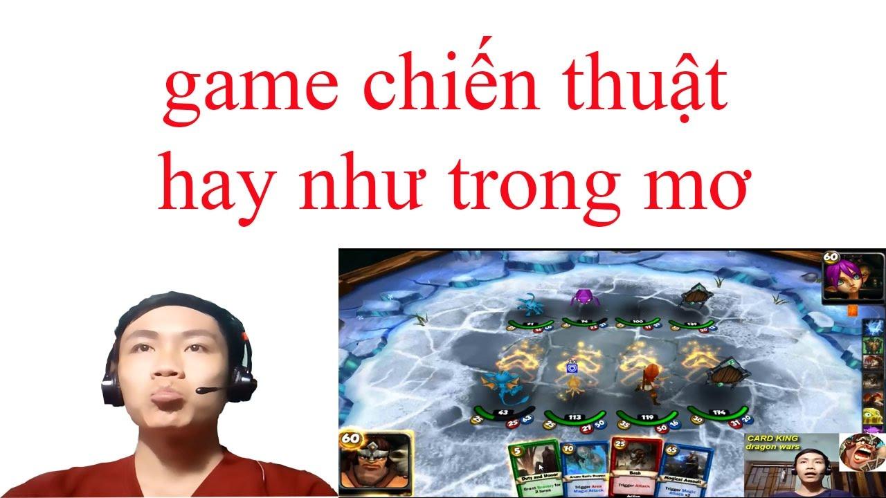 """""""game"""" chiến thuật thẻ bài dragon wars 3D hay như mơ (bạn nào chưa biết thi cùng chơi chung nhé)"""