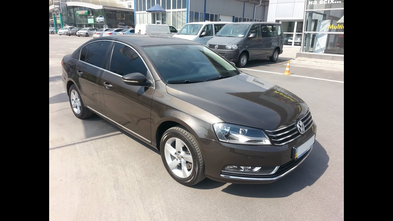 volkswagen passat b7 comfortline tdi dsg brown gold youtube. Black Bedroom Furniture Sets. Home Design Ideas