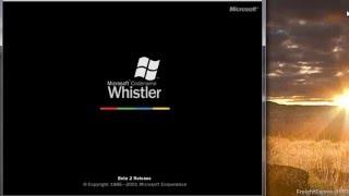 Microsoft Whistler Personal Beta 1 Build 2433 (Pre-Beta 2) In Virtual PC 2007