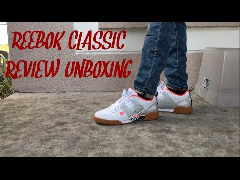 0eb11a5afa2 NEW REEBOK CLASSIC REVIEW UNBOXING