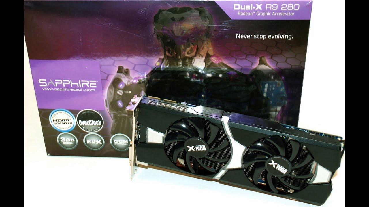 sapphire r9 280 dual x oc with boost benchmarking performance youtube. Black Bedroom Furniture Sets. Home Design Ideas