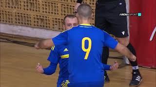 FUTSAL KVALIFIKACIJE ZA EP: Srbija - BIH 2:4 / 03.02.2021.