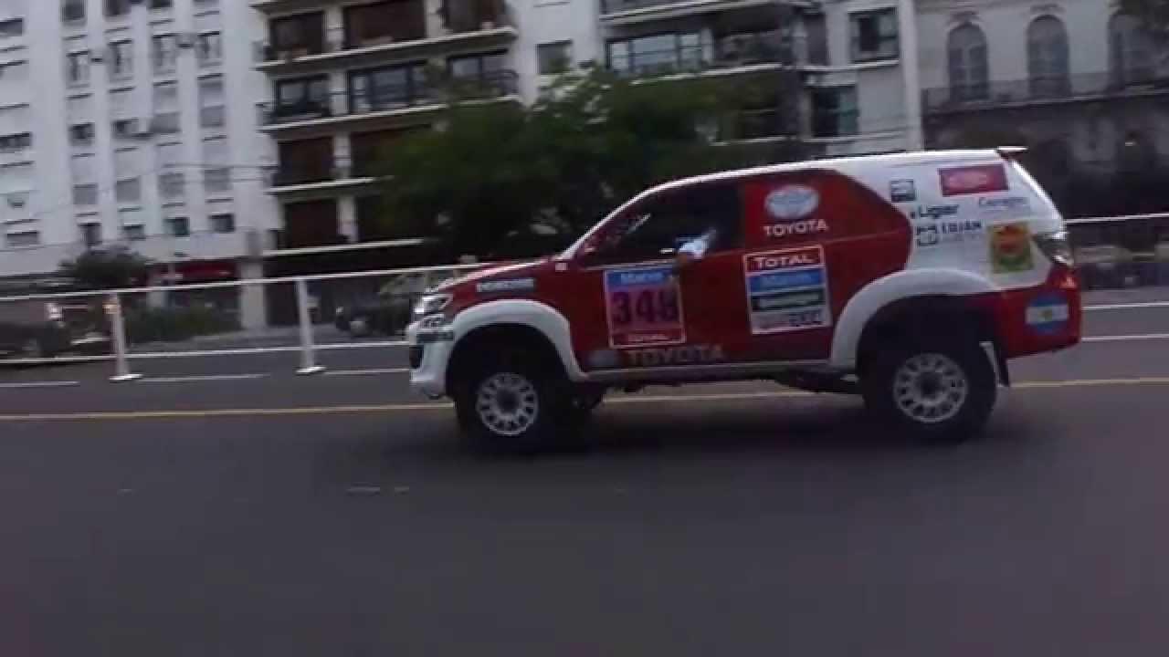 Toyota Fortuner 2015 >> DAKAR 2015: 348 Toyota Hilux SW4 de Alejandro Yacopini - YouTube