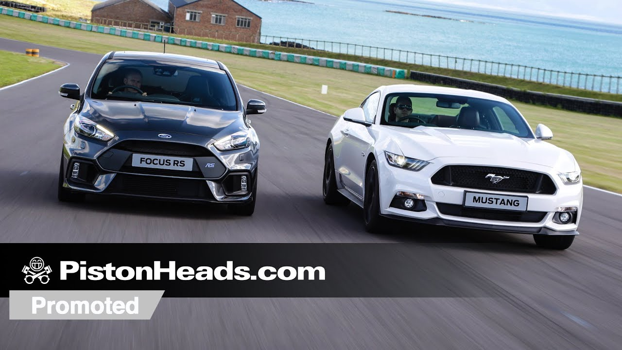 Promoted: Ford Mustang versus Focus RS