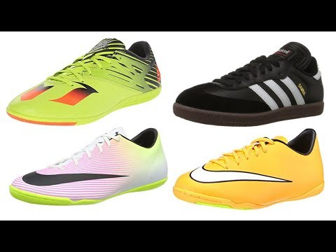 4be4afc86 Top 4 Best Indoor Soccer Shoes 2019 - YouTube