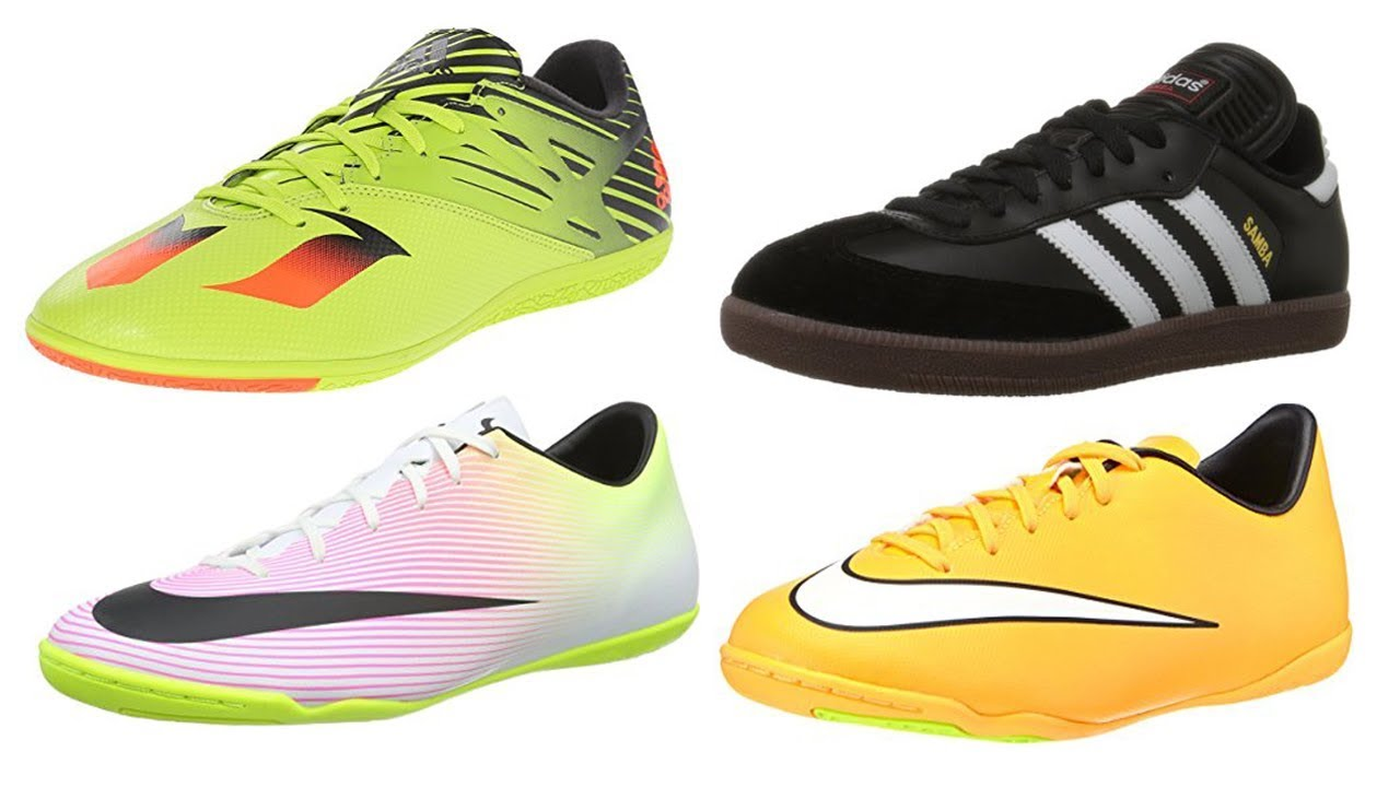 2838330e5713 Top 4 Best Indoor Soccer Shoes 2019 - YouTube