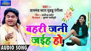 बहरी जनि जइहा हो Super Hit Song 2020 ! Guddu Rangeela New Gana 2020
