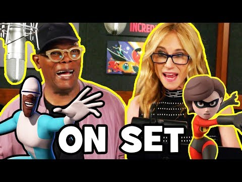 INCREDIBLES 2 Behind The Scenes with the Voice Cast B-Roll & Bloopers