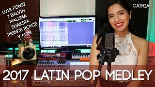 LAS MEJORES CANCIONES DEL 2017 MEDLEY/ BEST SONGS OF 2017 MASHUP COVER thumbnail