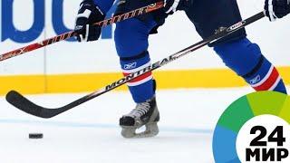 Победа в овертайме: сборная Казахстана по хоккею обыграла Беларусь - МИР 24