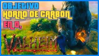 🟢 HACEMOS UN HORNO DE CARBON EN VALHEIM? 🟠 GAMEPLAY ESPAÑOL