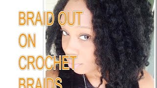 Braid Out on Crochet Braids Thumbnail