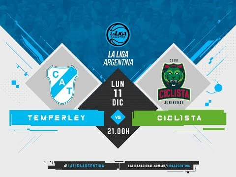 #LaLigaArgentina | 11.12 Temperley vs. Ciclista Juninense