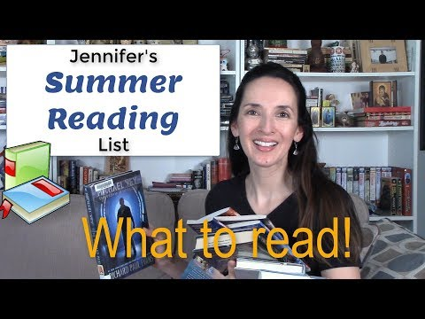Summer Reading 📘 Jennifer's Book Recommendations ☀️Improve Your English Vocabulary
