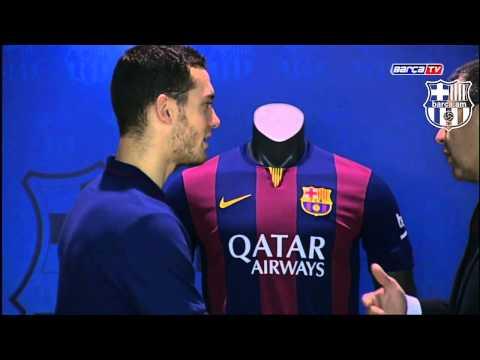 Vermaelen signs tilll 2019. HD | Barca.am