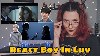 "React BTS ""Boy In Luv"" Official MV Reaction"