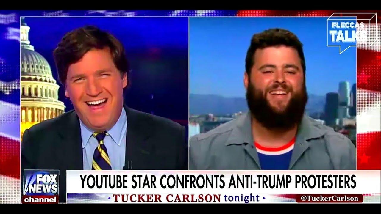 Tucker Carlson Interviews Austen Fletcher   FLECCAS TALKS
