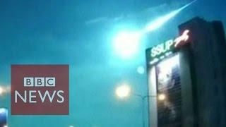 'Fireball meteor' lights up Bangkok skies- BBC News  - BBC News