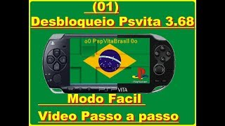 Desbloqueio do Psvita Na ultima Versao 3.69  via VHBL Video passo a passo (01)