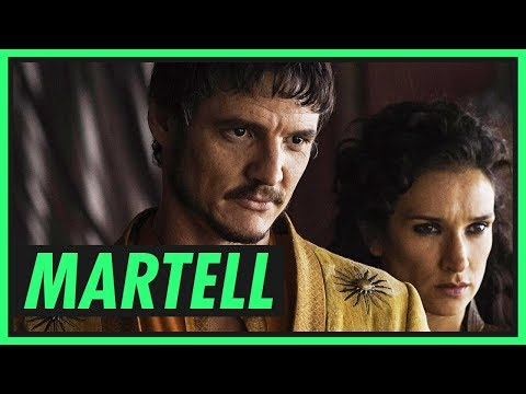 Família MARTELL  GAME OF THRONES