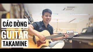 [Văn Bảo] Các dòng của guitar Takamine