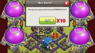 "WHAT TO DO WITH 25,000,000 ELIXIR??? TOWN HALL 12 RUSH RECOVERY EPISODE 16 - ""CLASH OF CLANS"""