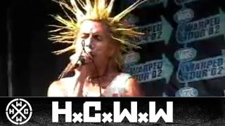 THE CASUALTIES - GET OFF MY BACK - HARDCORE WORLDWIDE (OFFICIAL HD VERSION HCWW)