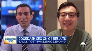 DoorDash CEO on Q4 results and expectations for post-pandemic demand