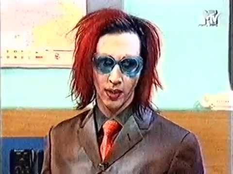 Marilyn Manson  on MTV Europe Select 1998