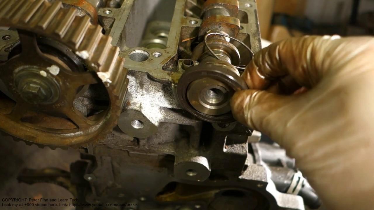 how to repair oil leak in camshaft gasket [ 1280 x 720 Pixel ]