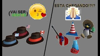 NEW FREE ITEMS COMING UP? US ITEM EVENT? | Roblox