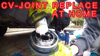 How To - CV-Joint VW 1.6 TDI Replace - Homokineet vervangen - VAG