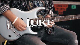 Steve Lukather demos his Ernie Ball Music Man LUKE Electric Guitar