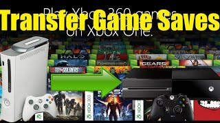 How To Transfer Game Saves From The Xbox 360 To The Xbox One(Hunter shows you how to transfer your saves from the xbox 360 to the xbox one with the new backwards compatibility feature., 2015-06-22T00:09:15.000Z)