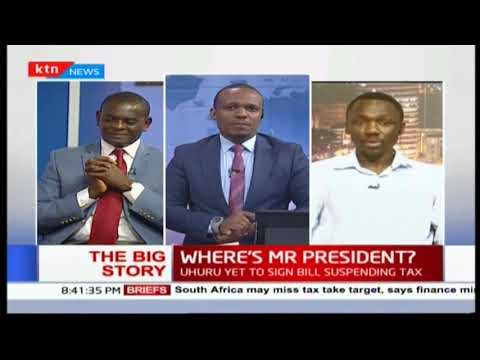 The Big Story:  Where is President Uhuru amid the ongoing fuel tax