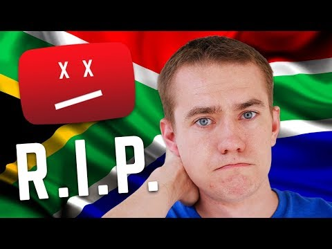 South Africa Is Killing Our YouTube Channel