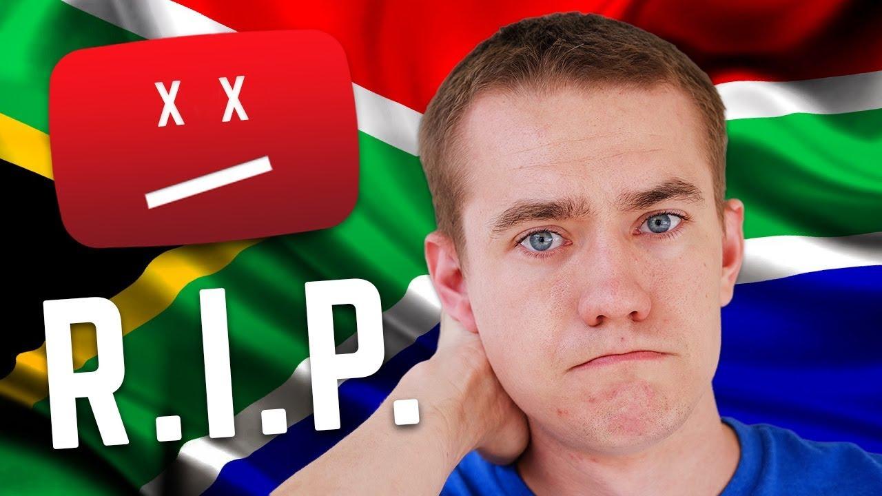 Südafrika tötet unseren YouTube-Kanal + video