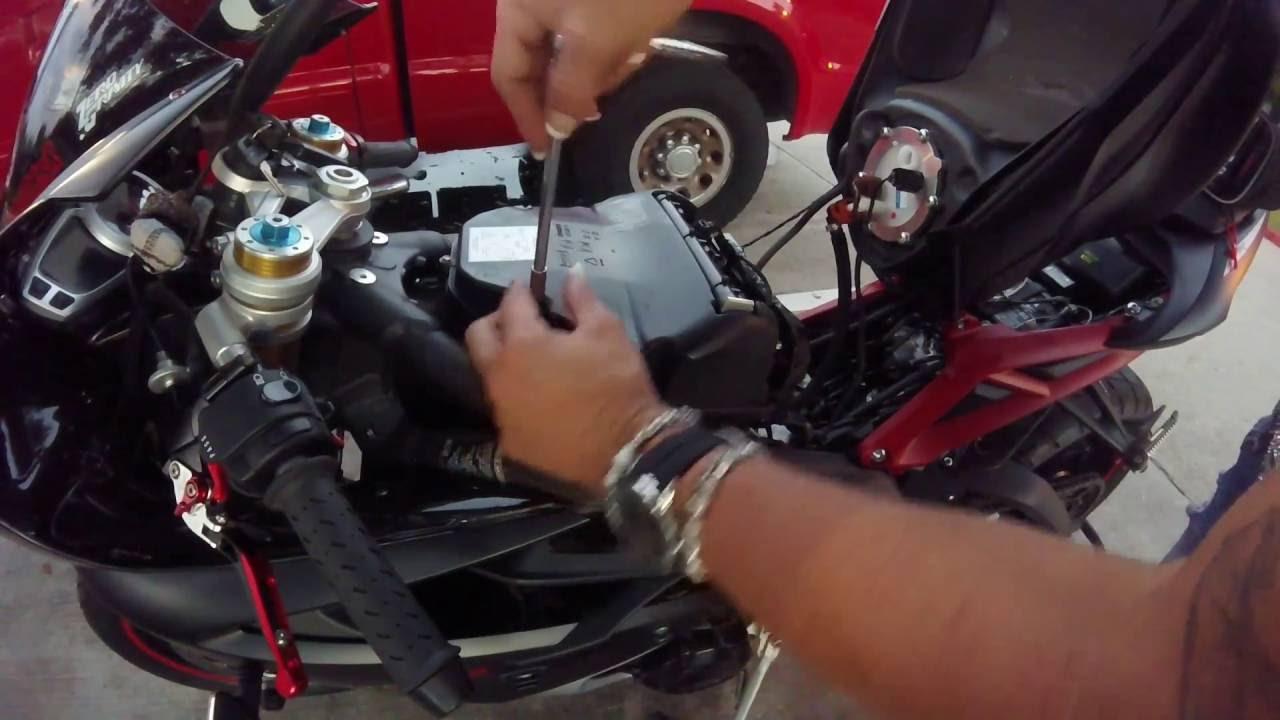 2015 Triump Daytona 675 R Kn Air Filter
