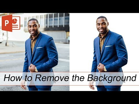 How To Remove The Background From An Image (PowerPoint 2019)