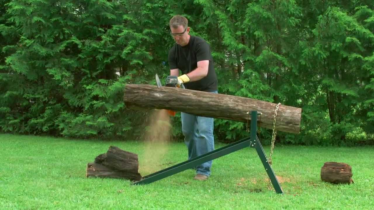 Yardworks Ultimate Sawhorse From Canadian Tire Youtube