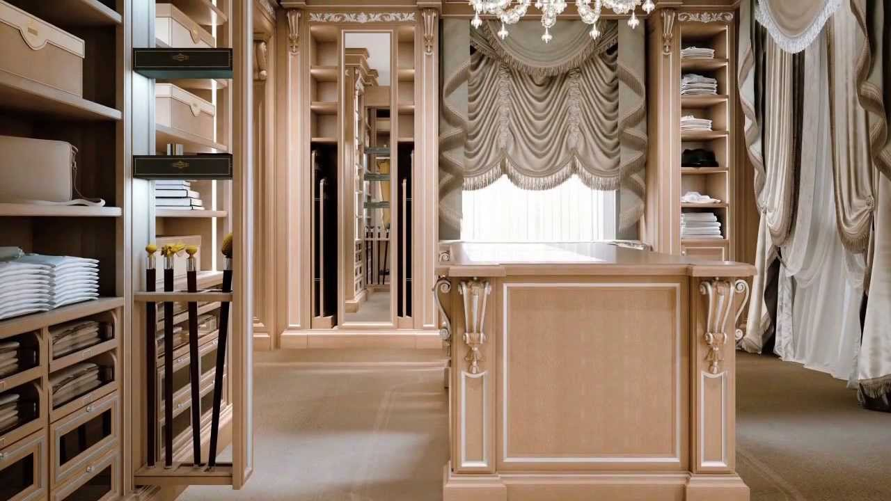 Faoma Custom made luxurious dressing room. Luxury bespoke furnishings - YouTube