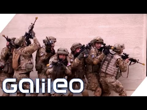 Als Statist auf dem amerikanischen Kriegsübungsgebiet   Galileo   ProSieben
