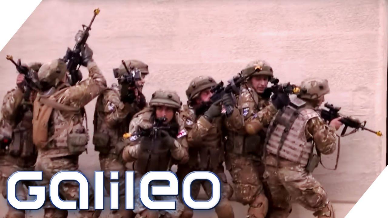 Als Statist auf dem amerikanischen Kriegsübungsgebiet | Galileo | ProSieben