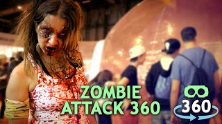 Zombie Attack Horror 360º Virtual Reality #360Video #VirtualReality #VR #360