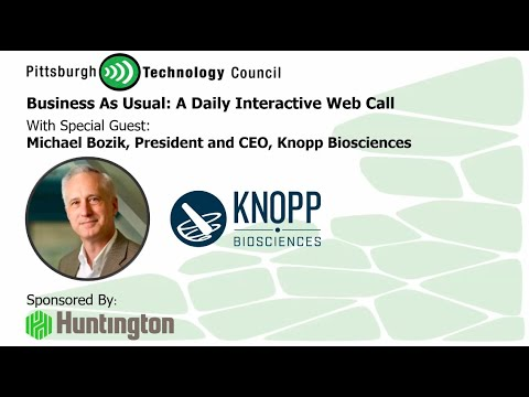 Knopp Biosciences CEO Goes Live on Business as Usual