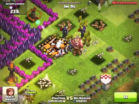 Clash of Clans - The Witch / Die Hexe - Gameplay - by Jay One