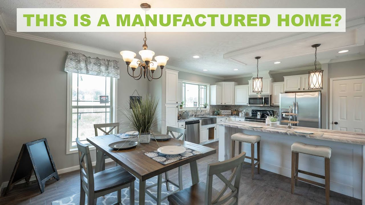 FULLY LOADED Manufactured Home - Lets Tour!