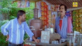 யோ.. என்ன அப்படி பாக்குற ஒரு டீ போடு பழைய பாக்கி 300 எங்கடா || #KanjaKaruppu || #Manobala || #Comedy