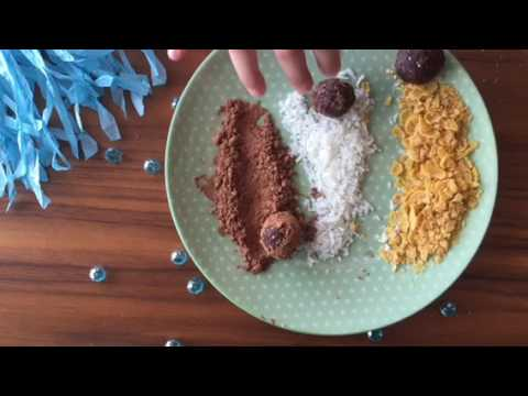 Healthy Vegan Choco-Date Balls